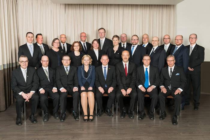 Reserviläisliiton liittohallitus 2017