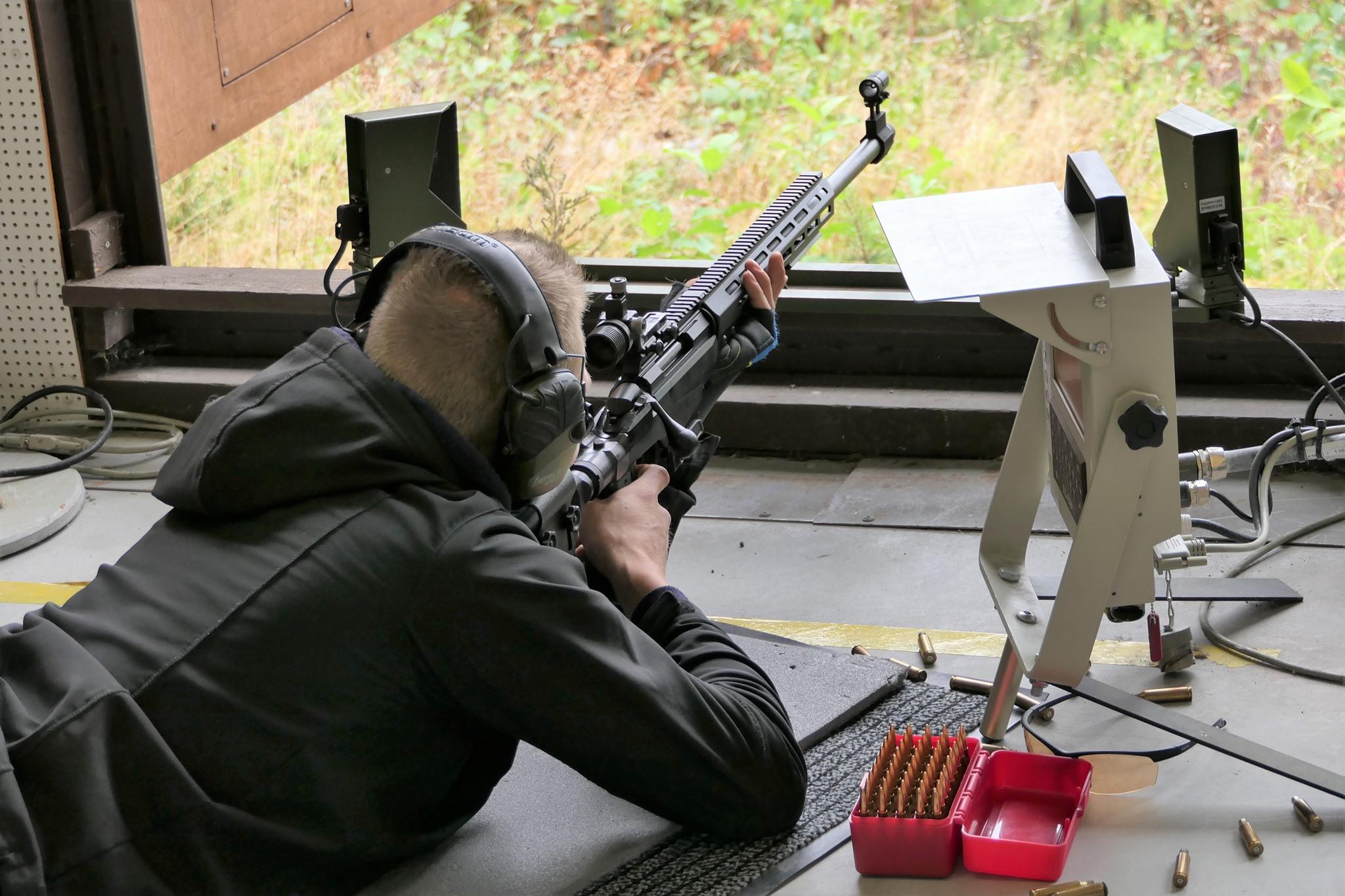 Kenttäammunta oli yksi reservin ampumamestaruuskilpailujen lajeista.